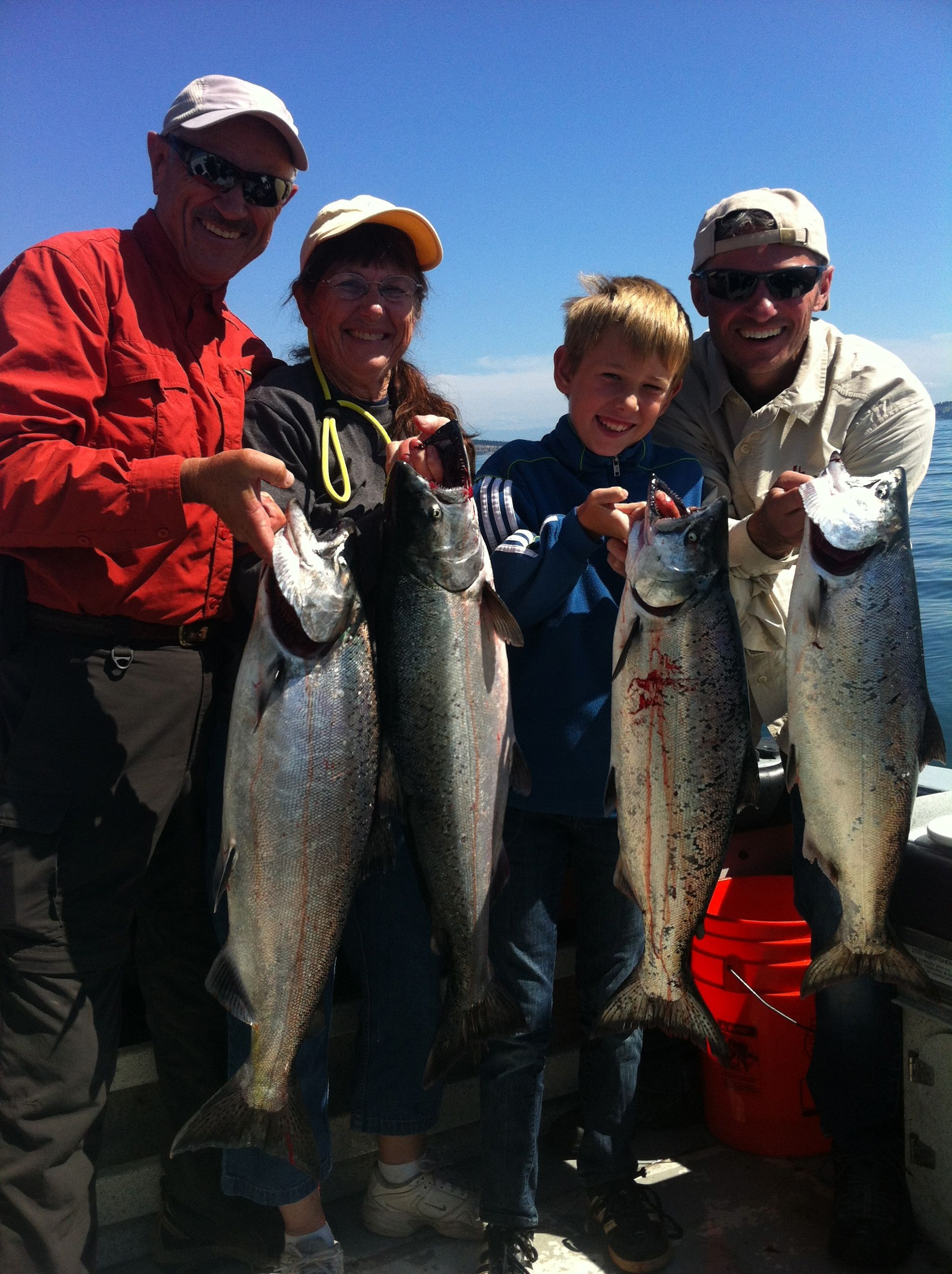 King Salmon Fishing in the San Juans